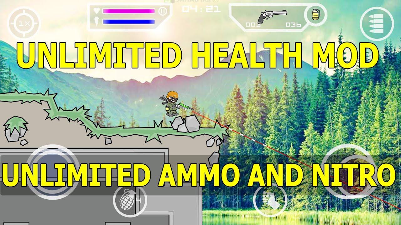 mini militia unlimited health