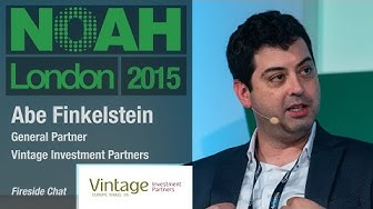 Abe Finkelstein, Vintage Investment Partners - NOAH15 London