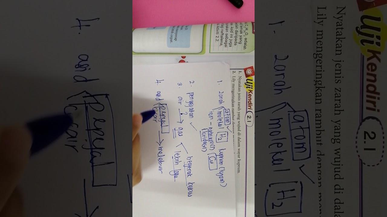 Jawapan Buku Teks Kimia Tingkatan 4 Kssm Bab 3 - Sasbadi ...