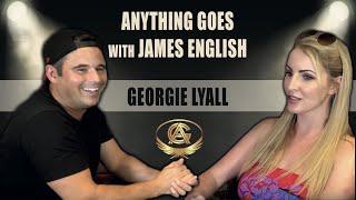 James English meets Porn Star Georgie Lyall on his podcast -fake taxi, porn, porn hub, funny, family