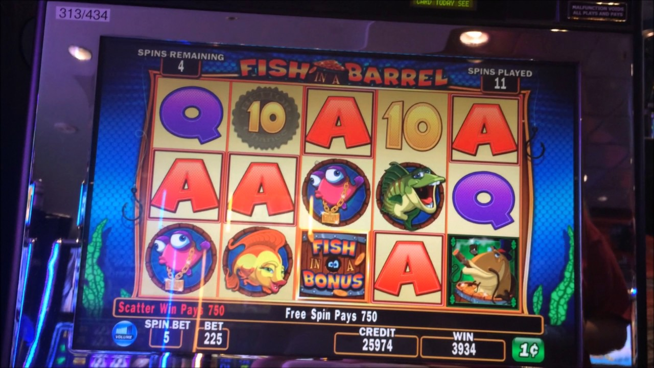 Fish in a barrel casino game casinos in washington