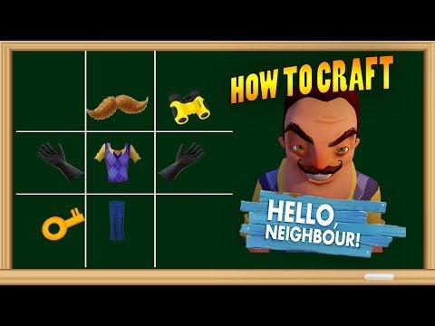 HOW TO SUMMON HELLO NEIGHBOUR - MINECRAFT CRAFTING SCARY HELLO NEIGHBOUR - Видео из Майнкрафт (Minecraft)