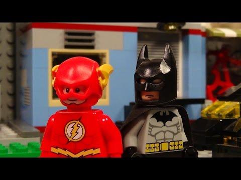 Lego Batman and Flash Team Up