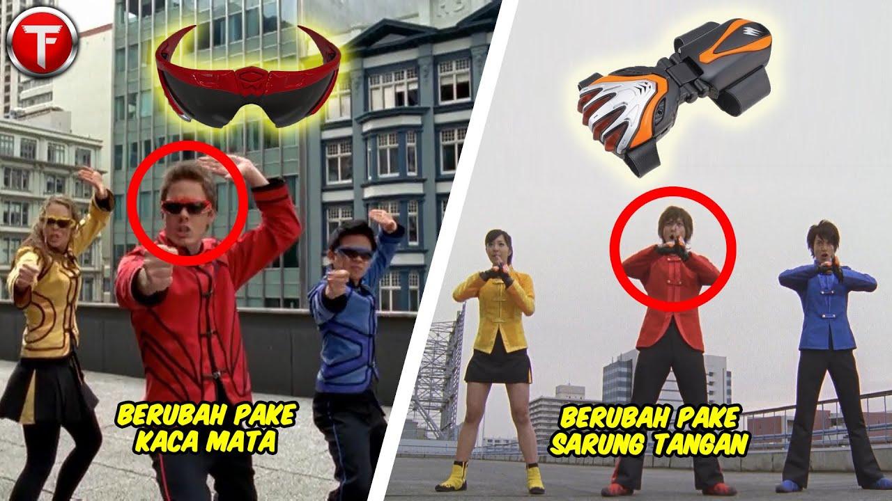 7 Morpher Power Rangers yang Berbeda dengan Versi Super Sentai (REDUX)