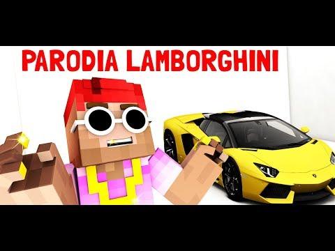 Guè Pequeno - Lamborghini (RMX) ft. Sfera Ebbasta [Minecraft Parodia]