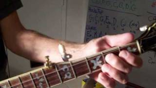 Cripple Creek for 5 string Banjo - 3 Finger Bluegrass Style