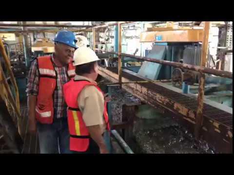 Campo Morado - Inspecting flotation circuit