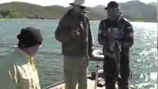 POPS Catches 4lb Bass at Apache Lake, Arizona with Johnny Johnson