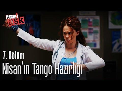 Nisan'ın tango hazırlığı - Acil Aşk Aranıyor 7. Bölüm