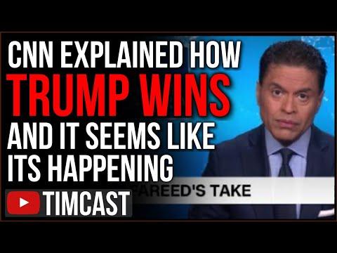 CNN Runs Segment Saying Trump COULD STILL WIN, Democrats Oblivious As Trump On Track For EC Victory