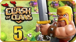 Let 39 s Play CLASH of CLANS Part 5 Erste Online Raubzüge