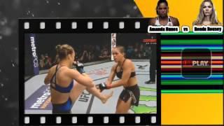Amanda Nunes   vs   Ronda Rousey, Luta completa