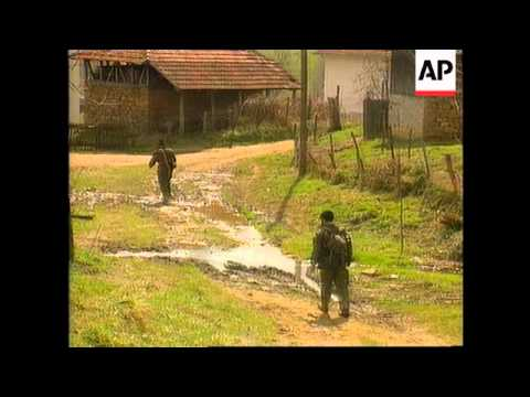 Bosnia - Battle Rages For Hills Overlooking Tuzla