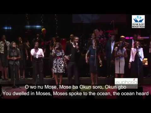 """Soprano, alto and tenor tonic solfa of """"Wo nu mi oo, ko wa bami soro"""" by Nathaniel Bbassey"""