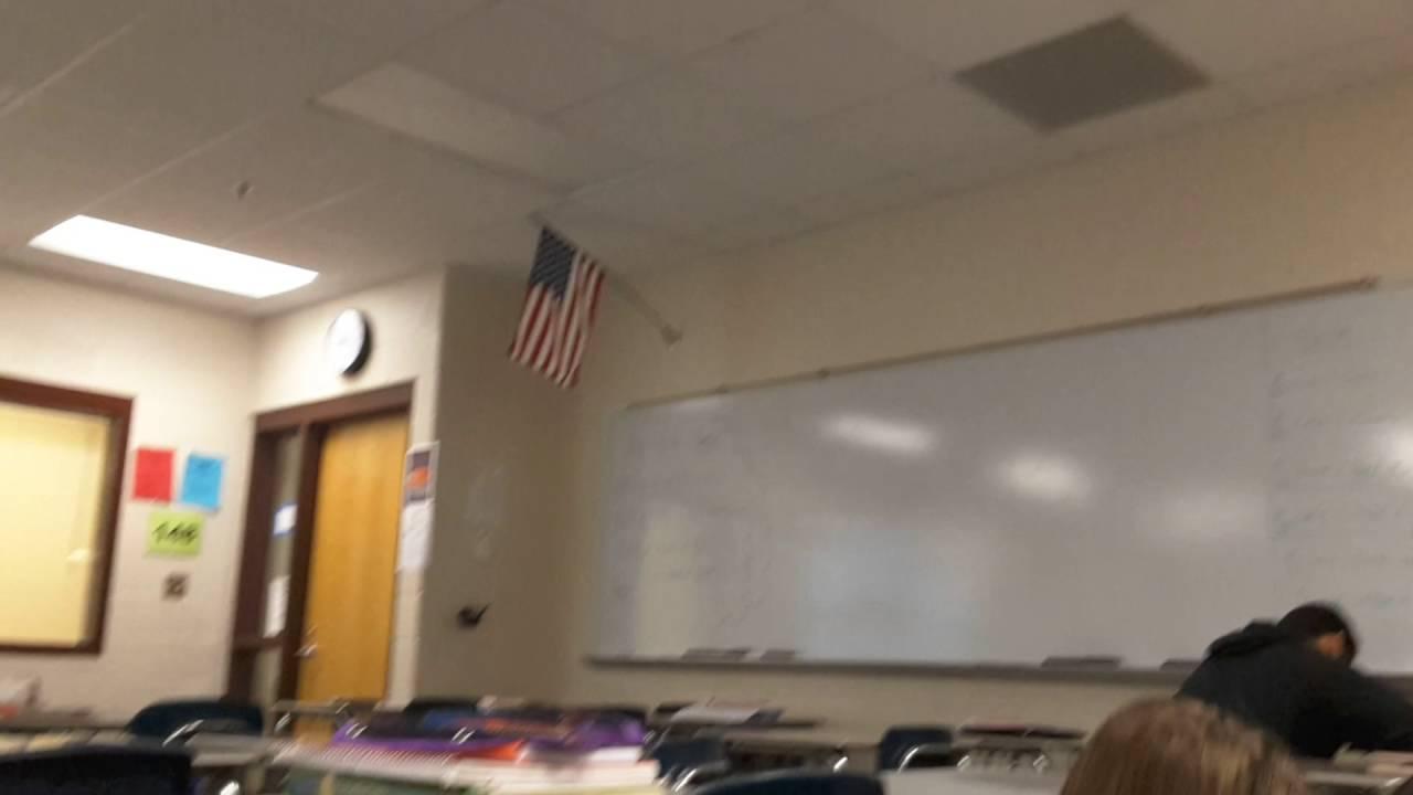 School Tornado Drill
