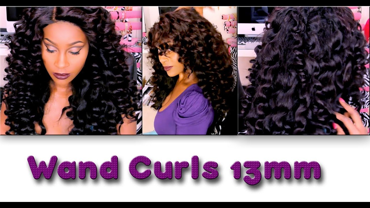 How To Wand Curls Featuring Teyana Taylor Inspired Curly