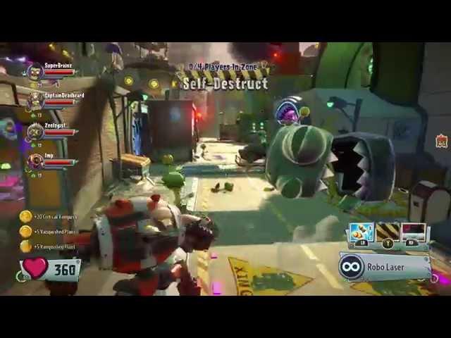 Plants vs. Zombies: Garden Warfare 2 (видео)