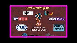 Breaking News | Fifa World Cup 2018: Today's match fixture, live streaming info for Tuesday