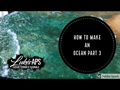 How To Make A Model Ocean Part 3: Ripples And Waves
