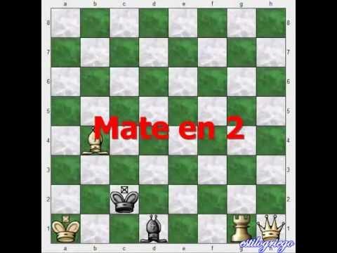 Problema de ajedrez (#12007) - jaque mate en 2 jugadas