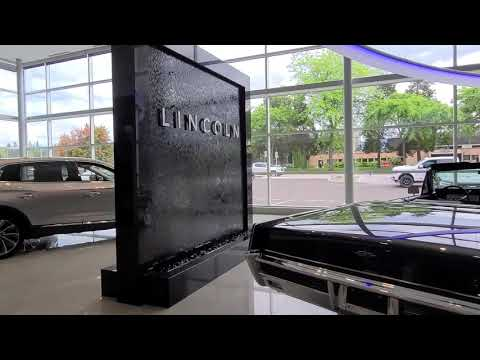 Waterfall Now - Custom Waterfalls Canada - Lincoln Ford Dealership Custom Waterfall