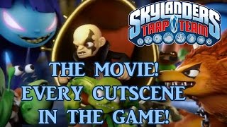 Skylanders Trap Team - THE MOVIE! Every Cutscene From The Game!