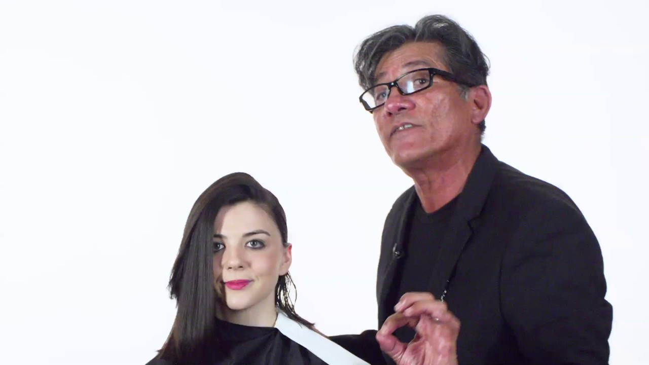 Sam Villa\'s Hair Hacks: Create a Sleek Look with Full Frame 07 - YouTube
