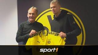 Transfer-Coup perfekt! Haaland wechselt zum BVB | SPORT1 - TRANSFERMARKT