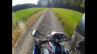 Yamaha WR125R | Offroad Tongrube 2 | GoProHD