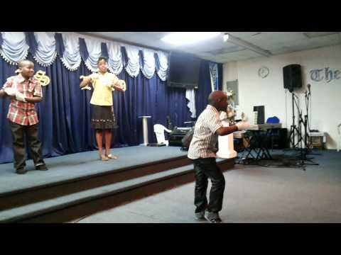 Deliverance temple ( San Fernando) next generation hands of praise  concert 2015