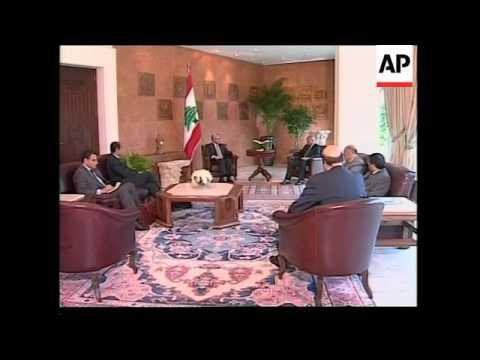 FM Gheit meets President Suleiman, comments