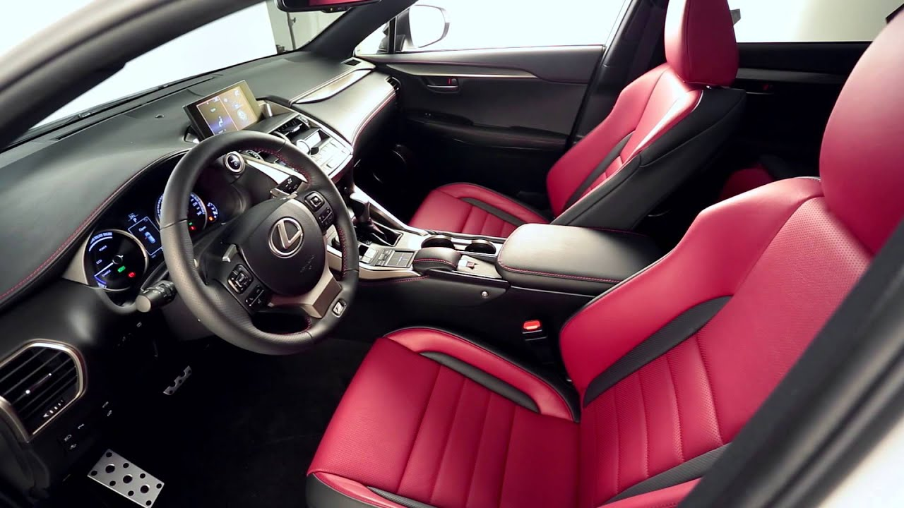 Lexus Nx Red >> Lexus NX 2014: Interior Details - YouTube