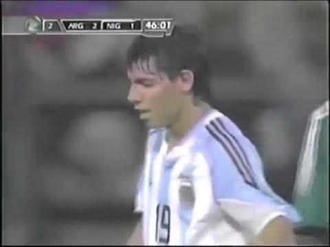 Sergio Agüero vs Nigeria (Final Mundial Sub-20 2005)