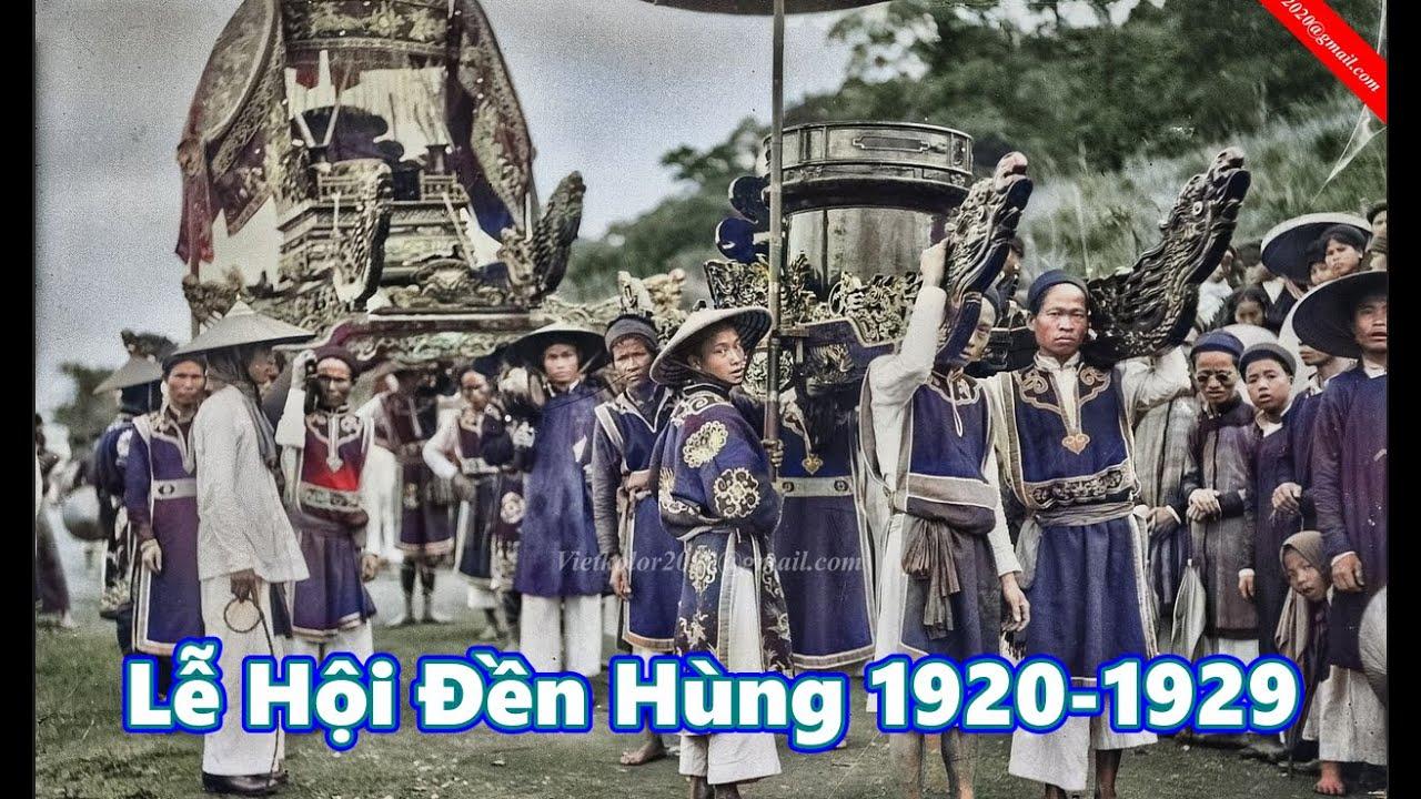 Giỗ tổ Hùng Vương – Lễ hội Đền Hùng 1920-1929