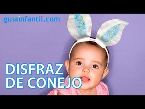 Orejas Para Disfraz De Conejo Manualidades Para Carnaval Youtube