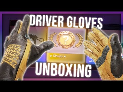 CS:GO OVERTAKE GLOVES UNBOXING (NEW CLUTCH GLOVES)