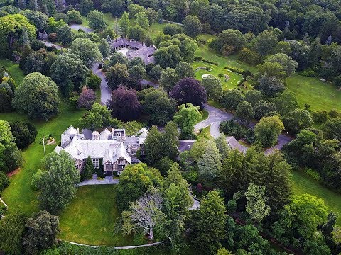 New Jersey Botanical Gardens - An Aerial View In The Summer