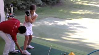 Eva Shmargunenko - Уроки гольфа, Prime Golf Academy