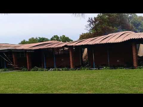 Aftermath of Estcourt Secondry School fire