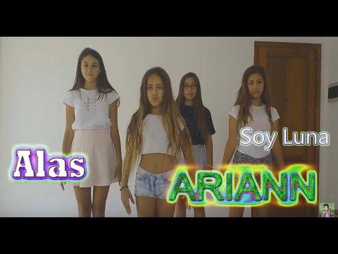 Alas - Soy Luna - ARIANN - Coreografía Tutorial