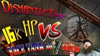 16kHP FACETANK  -HALL OF GRANDMASTERS- POE - Atlas of Worlds  & Essence League Ready - Path of exile