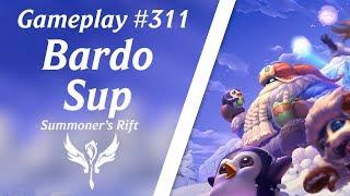 LOL Gameplay - Bardo Suporte #46 | 4K 60fps
