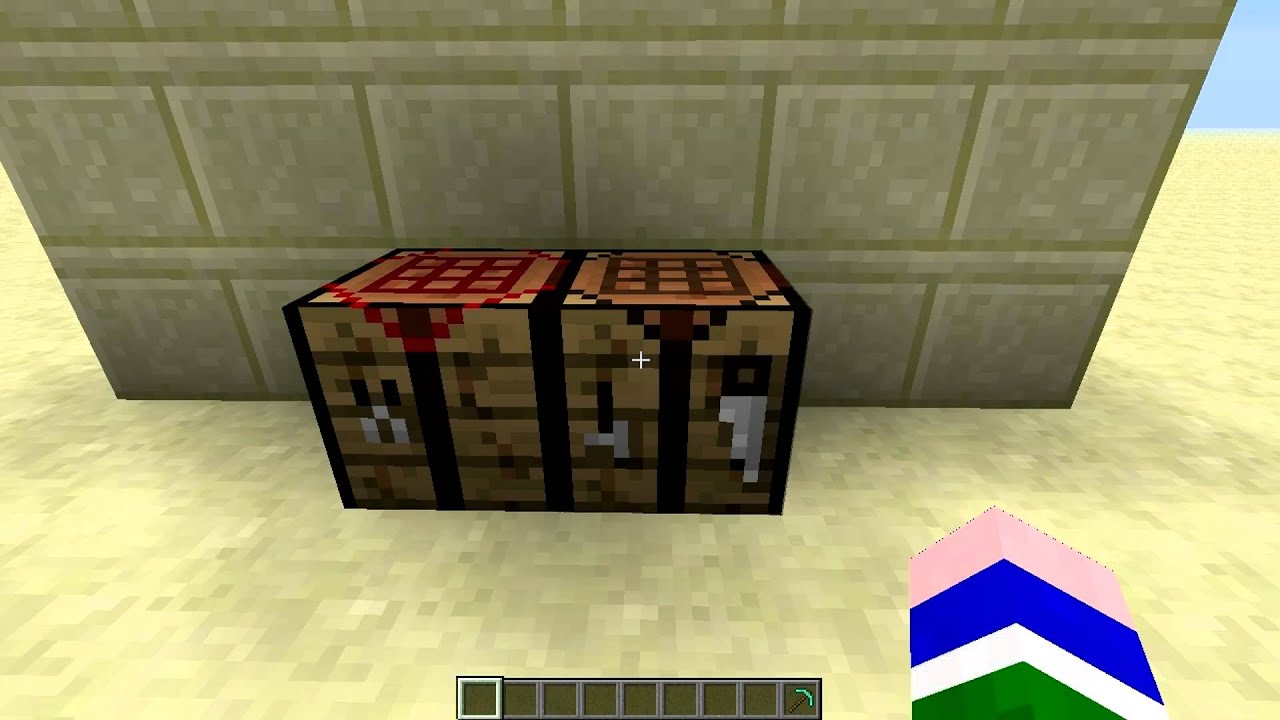 Minecraft mods easy crafting table mod minecraft 1 4 7 for Minecraft coffee table
