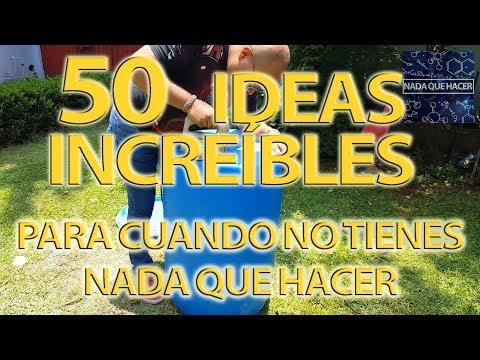 50 ideas increíbles para cuando no tienes nada que hacer (recopilación) especial 500k Suscriptores