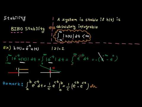Time domain - tutorial 11: system properties from impulse response