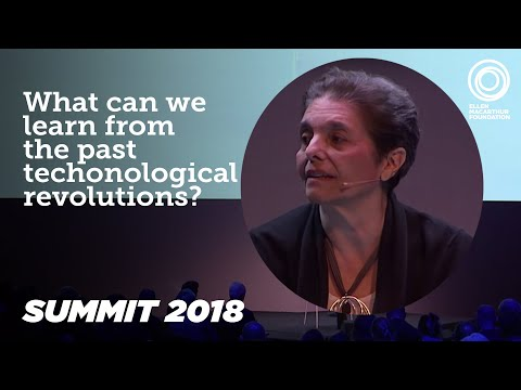 Carlota Perez - Techno-economic paradigm shifts, 2018 Summit