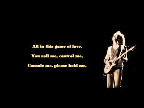 Santana ft. Tina Turner - The Game of Love (lyrics)