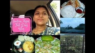 Indian Mom Full Day Vlog | Indian Mom Thursday Breakfast to Dinner Vlog