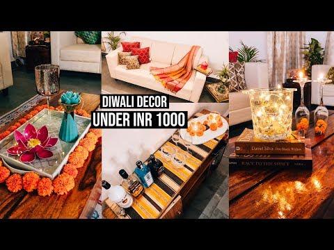 5 #Diwali #decoration Ideas under INR 1000    DIWALI BUDGET #HOME #DECOR IDEAS    Guiltybytes