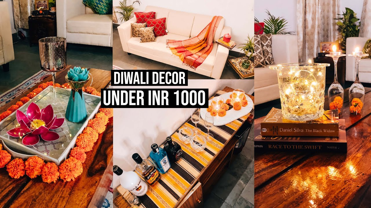 5 Diwali Decoration Ideas Under Inr 1000 Diwali Budget Home Decor Ideas Guiltybytes